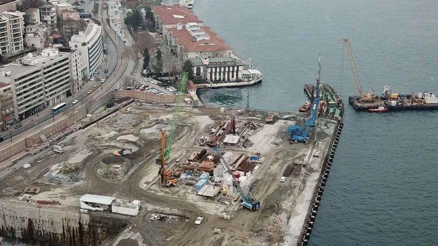 Galataport projesinde son durum