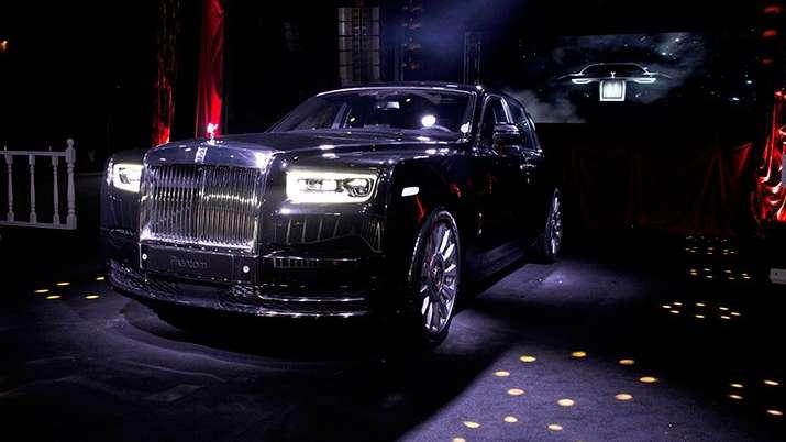 Rolls-Royce Phantom Türkiye'de ilk kez sergilendi