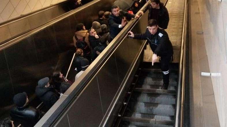 İstanbul Metrosu'nda korkunç olay!
