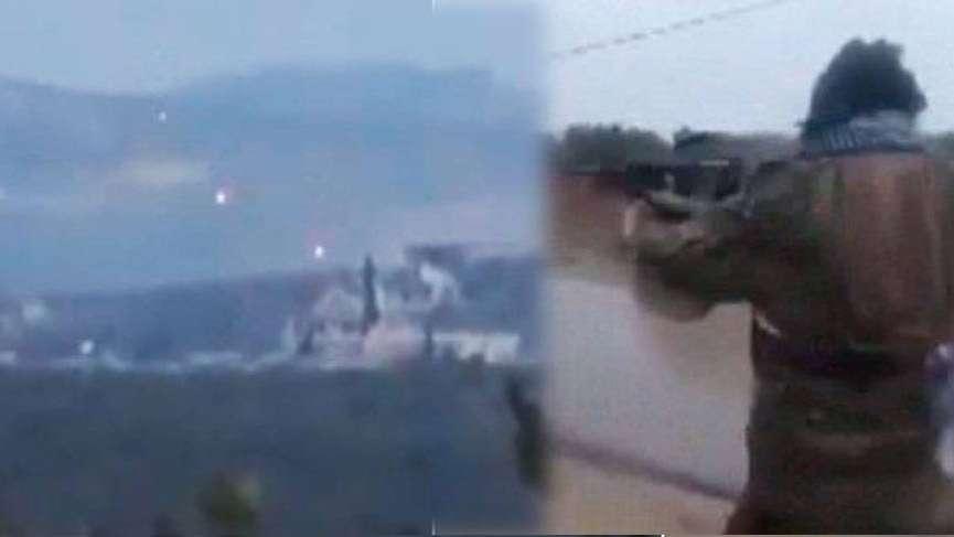 Afrin'deki operasyondan sıcak görüntüler