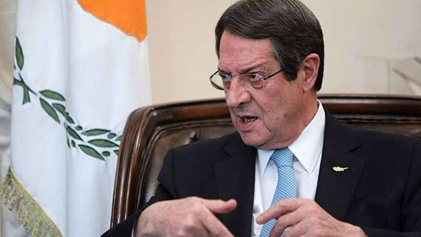 Anastasiadis: 'Müzakerelerin başlaması şimdilik imkansız'