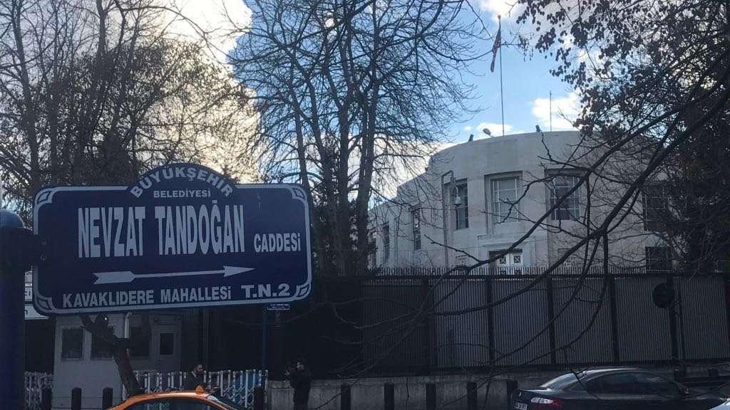 Ankara'da o caddenin adı resmen Zeytin Dalı oldu