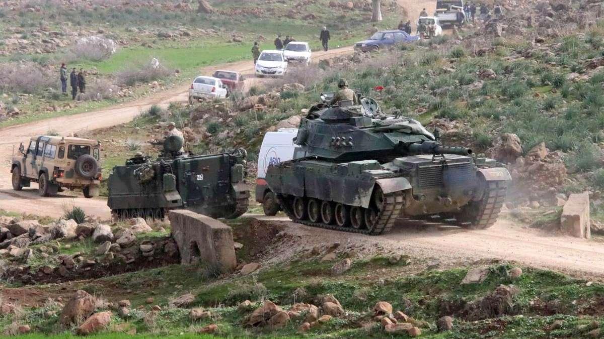 Afrin'de öldürülen terörist sayısı 2083 oldu