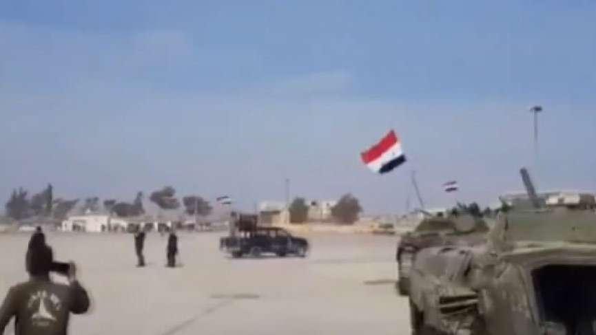 TSK bombaladı Esad güçleri geri çekildi