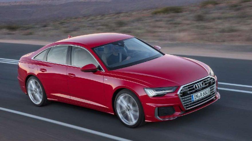 Audi A6'nın görüntüsü Cenevre Otomobil Fuarı öncesi ortaya çıktı!