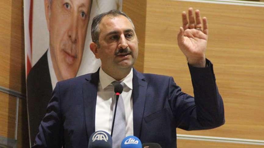 Adalet Bakanı Abdülhamit Gül'den açıklama