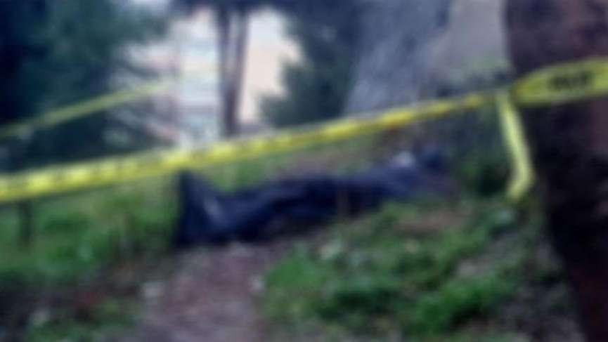 Eski okul bahçesinde ceset bulundu