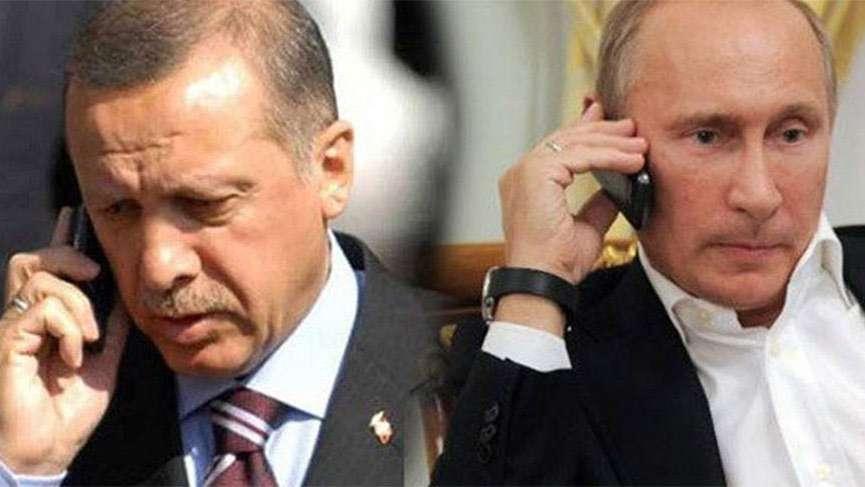 Son dakika! Erdoğan ve Putin arasında kritik Afrin görüşmesi
