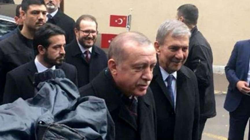 Cumhurbaşkanı Erdoğan 'Fesli'ye sürpriz ziyaret