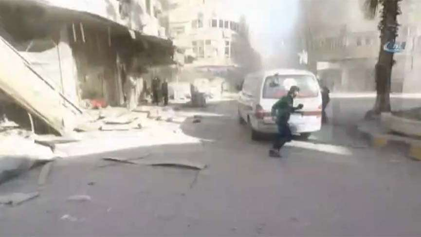 Doğu Guta'da hava saldırısı! 61 ölü, 400 yaralı