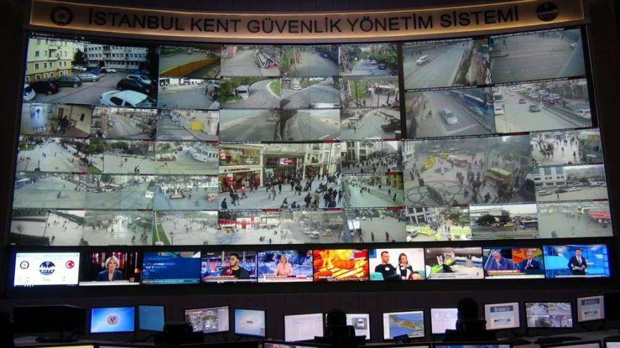 İstanbul'un gözleri… Yedi Tepe'yi Yedi bin polis kamerası izliyor…