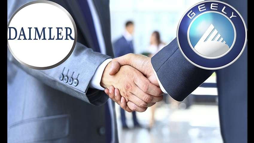 Daimler ve Geely arasındaki sıcak gelişmeler!