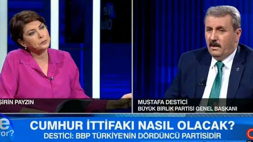 BBP'den 'Cumhur İttifakı' yorumu... Mustafa Destici: Biz uzlaşma arıyoruz