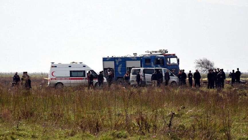 İzmir'de eğitim uçağı düştü: İki şehit