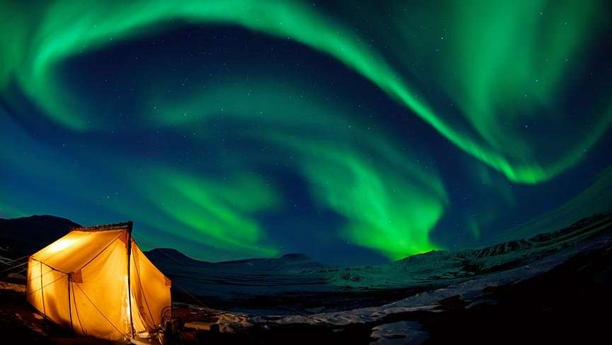 Bilinmeyenleriyle 'Aurora Borealis'
