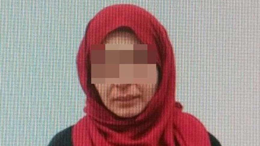 O kadın terörist Türkiye'ye getirildi
