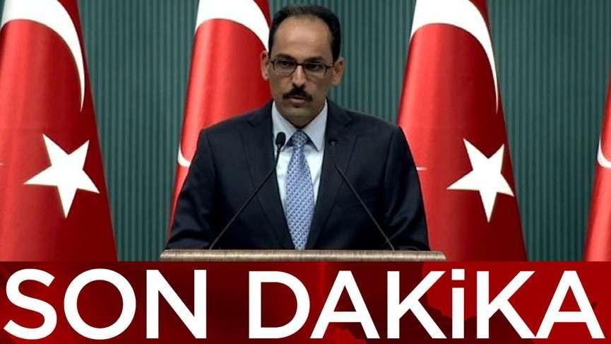 İbrahim Kalın'dan YPG-ESAD iddiasına açıklama