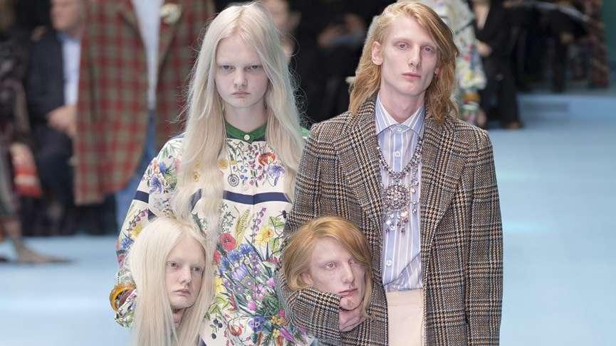 Gucci'nin kafa konsepti 'Kafa' karıştırdı!