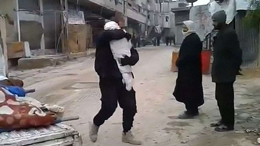 Esad Doğu Guta'da katliama devam ediyor