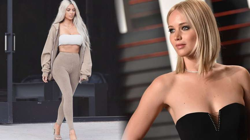 Jennifer Lawrence, Kim Kardashian'ı bozdu