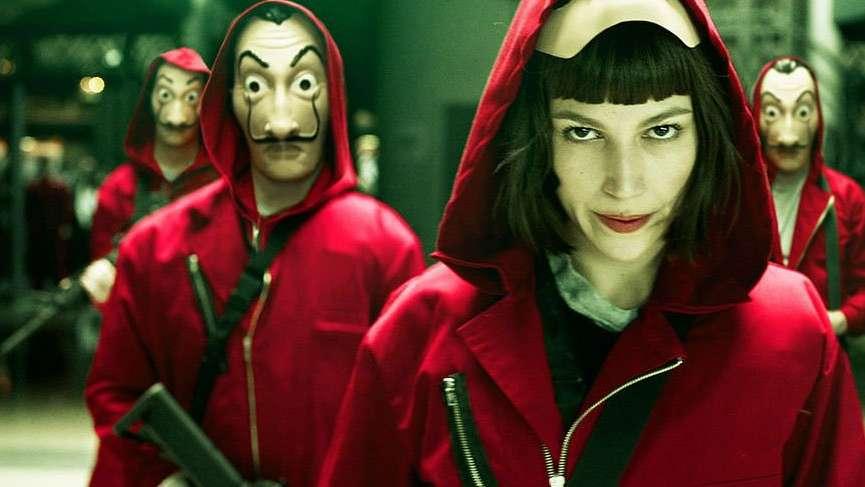 Netflix tarihi verdi! La Casa De Papel'in ikinci sezonu Nisan'da geliyor