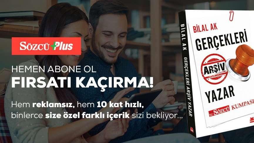 Hem reklamsız, hem 10 kat hızlı SÖZCÜ Plus aboneliğine ücretsiz kitap kampanyası