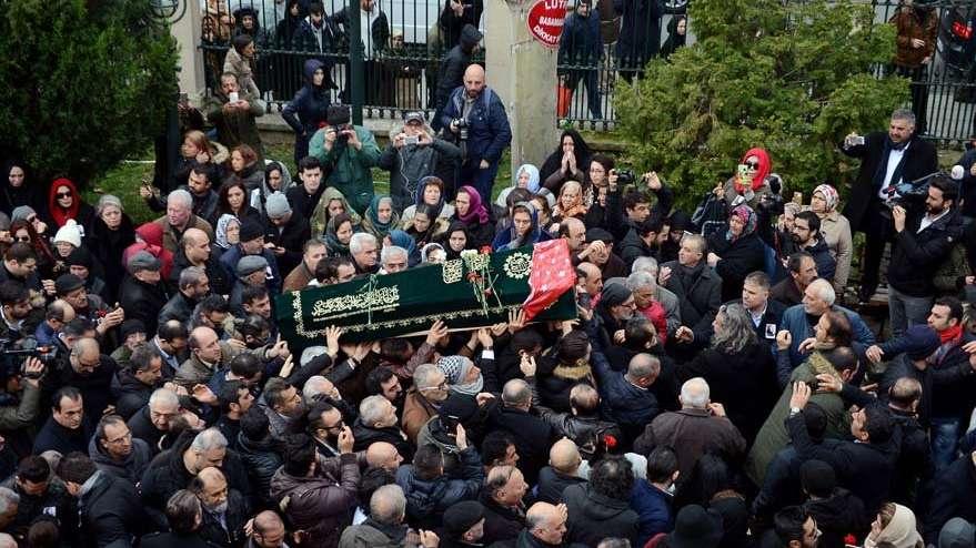 Nuray Hafiftaş'ın cenaze töreninde büyük ayıp