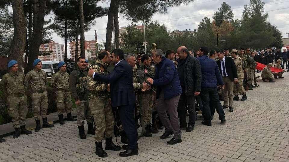 Korucular Afrin'e gidiyor