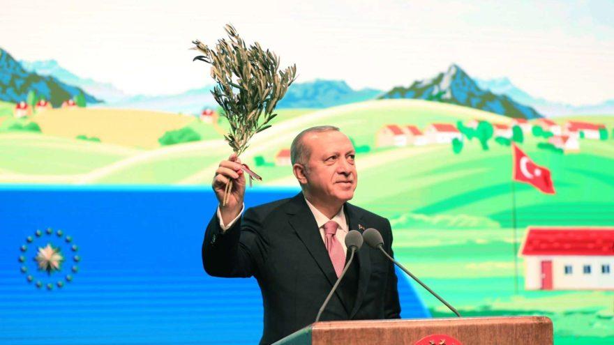 Erdoğan'dan çiftçilere mazot müjdesi: Mazot maliyetinin yarısını biz ödemeye başlayacağız