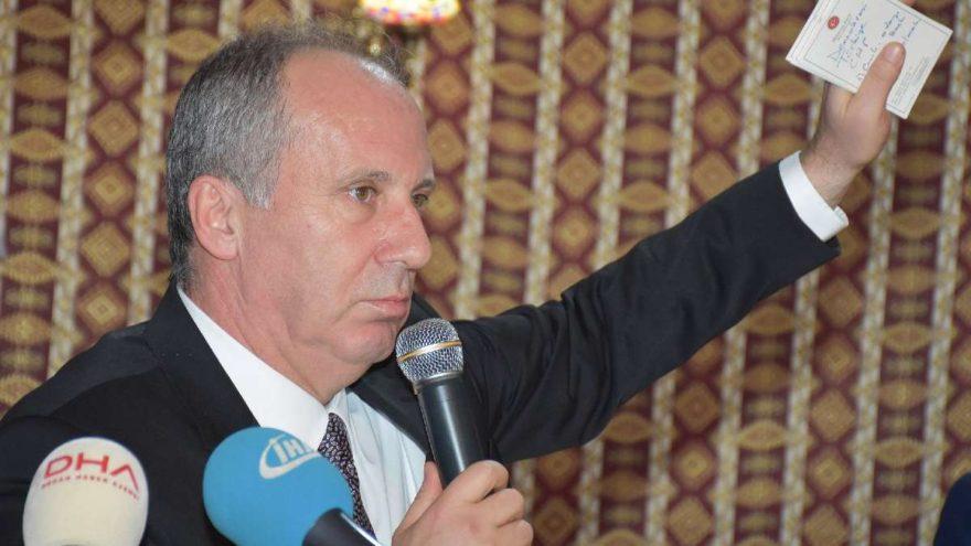 CHP'li İnce 'MHP-AKP İttifakı'nın adını koydu