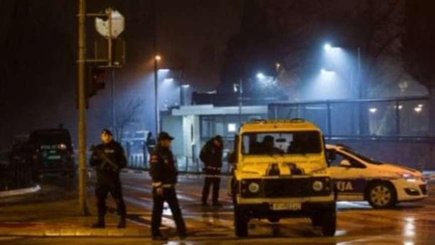 Karadağ'da ABD Büyükelçiliği'ne saldırı
