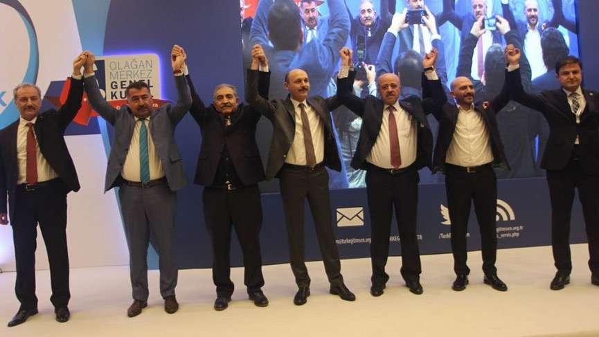 Talip Geylan Türk Eğitim-Sen'in yeni genel başkanı oldu