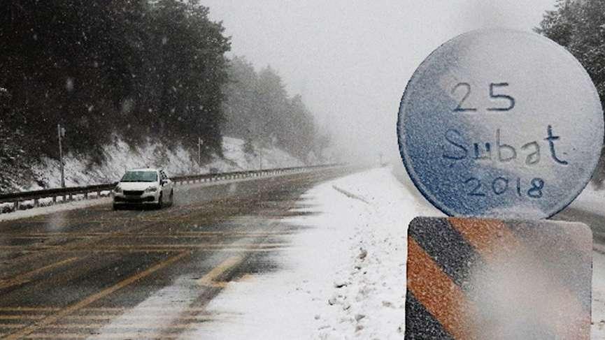 Bu sabaha karla uyandılar! Meteoroloji 'İstanbul'a kar geliyor' dedi | Son dakika hava durumu haberleri