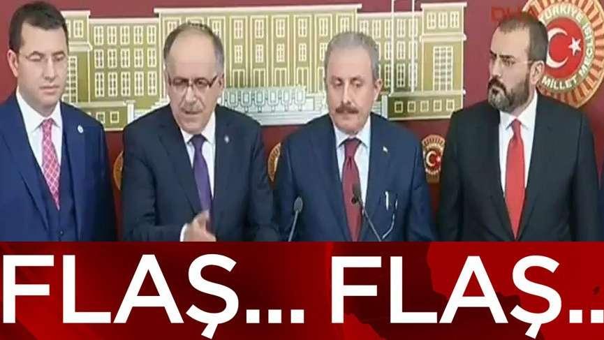Son dakika.... AKP ve MHP'nin ittifak yasası Meclis'te... İşte detaylar
