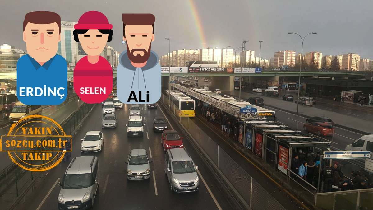 İstanbul'un trafik çilesi... Ömrümüz yollarda geçiyor...