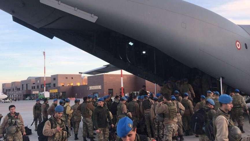 Suriye sınırına bin kişilik özel birlik! Uçak dolusu…