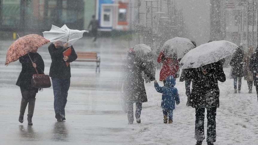 Edirne ve Kırklareli'nin bazı ilçelerinde eğitim öğretime kar engeli (Kar tatili olan iller)