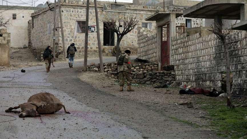 Afrin'de 8 askerimizin şehit düştüğü Keltepe ele geçirildi