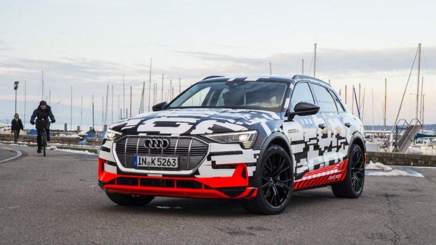 Audi elektrikli otomobilinin testlerine başlıyor!