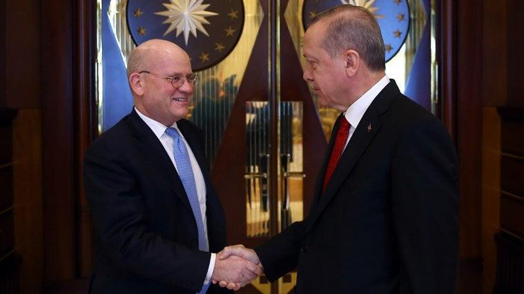 General Electric CEO'su Beştepe'de