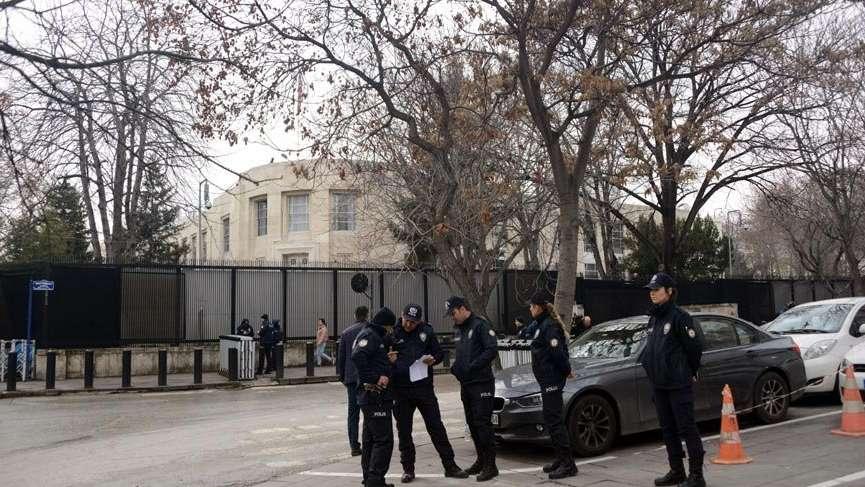 ABD Ankara Büyükelçiliği etrafında olağanüstü güvenlik önlemleri