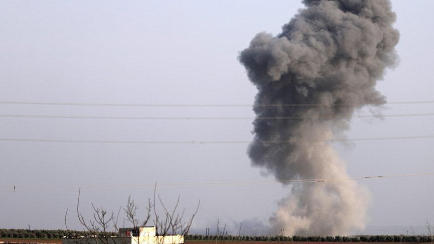 Teröristler Afrin'de neye uğradığını şaşırdı!