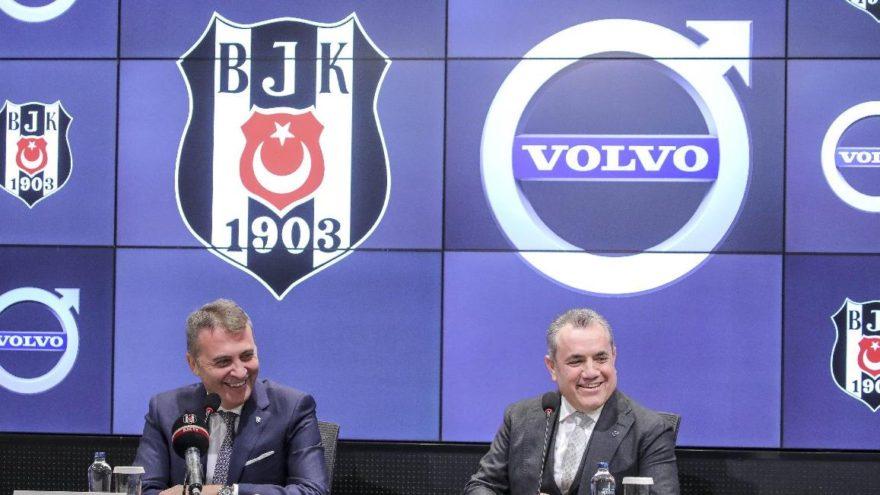 Volvo BJK'nın otomotiv partneri oldu!