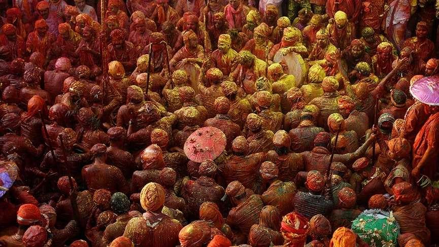 Dünyanın en renkli festivali Holi