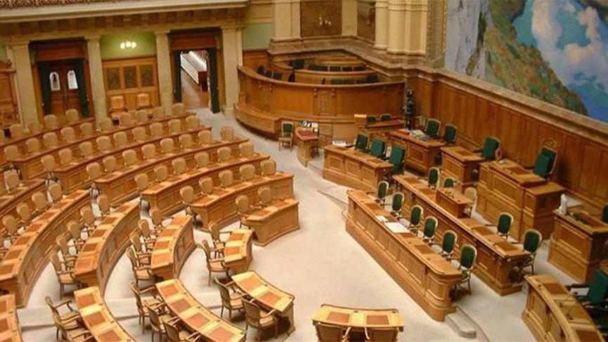 İsviçre'de Meclis tartışacak gündem olmadığı için açılmadı