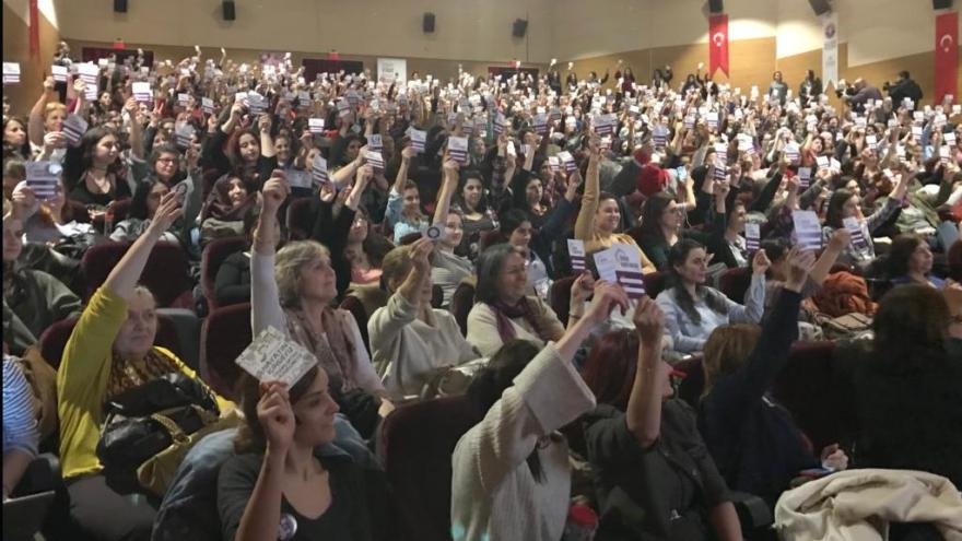 Türkiye Kadın Meclisi toplantısı İstanbul'da gerçekleşti