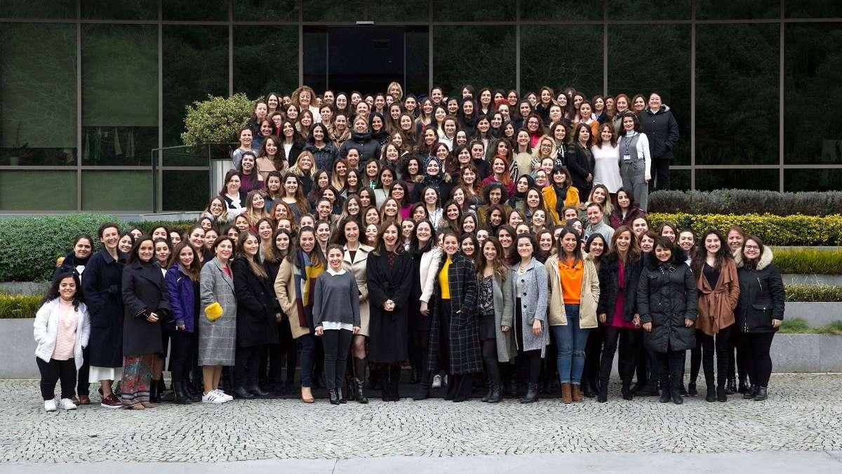Çalışanlarının yüzde 63'ü kadın