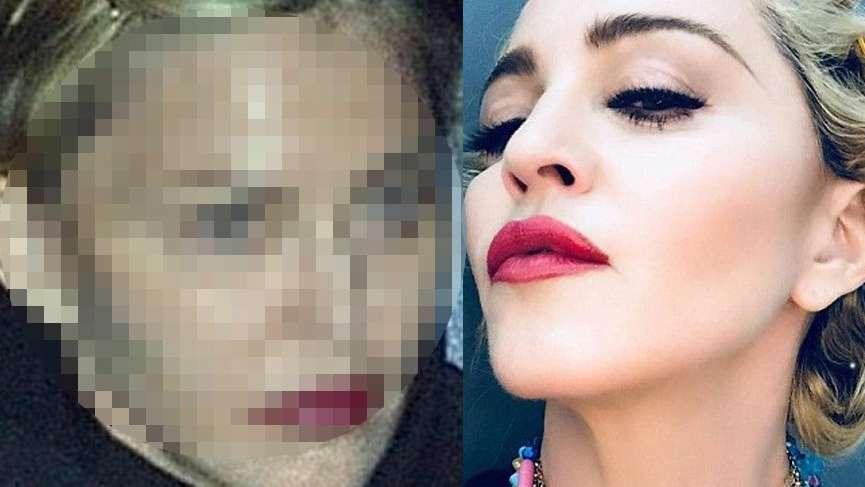 İşte Madonna'nın gerçek yüzü