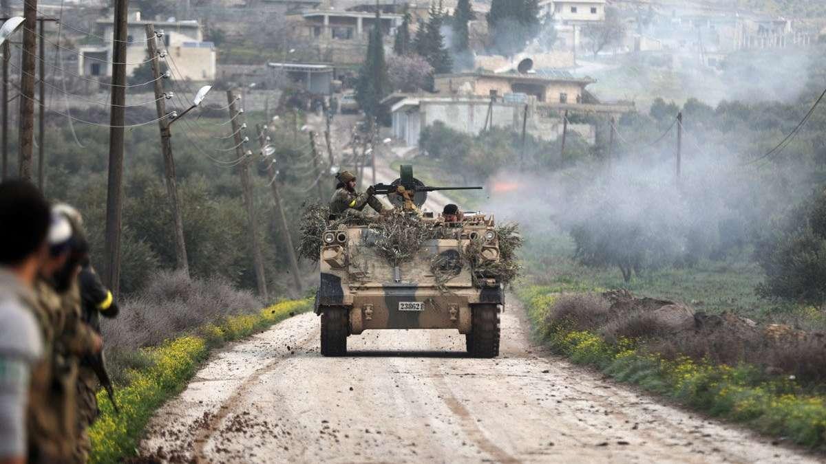 TSK ve ÖSO Afrin'de ilerliyor