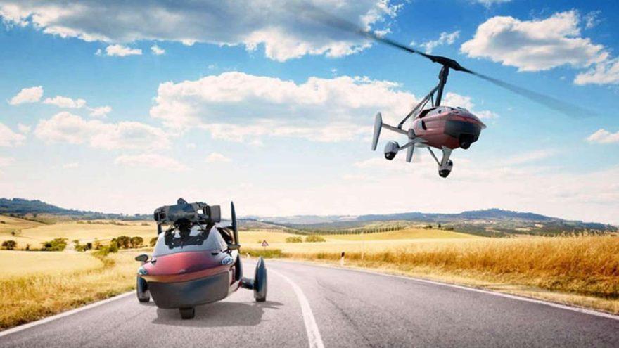 'Uçan Otomobil' gerçek oldu!